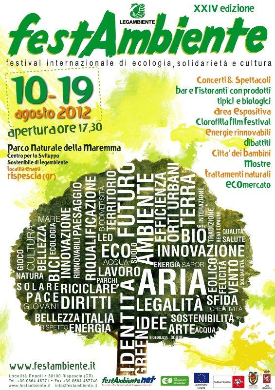 Festambiente, ecco il calendario del festival ecologico di Legambiente