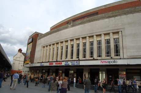 HMV Hammersmith Apollo Londra - Ph Angelo Moraca