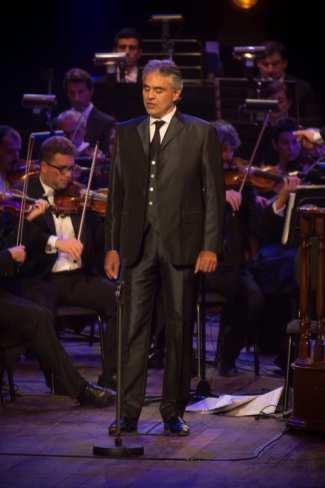 Andrea Bocelli | © NAPHTALINA - FONDAZIONE PAVAROTTI
