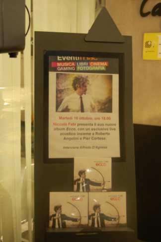 Showcase Fnac Napoli | © Ph. Angelo Moraca