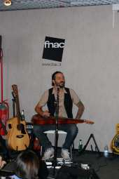 "Showcase CD ""Ecco"" Fnac Napoli 