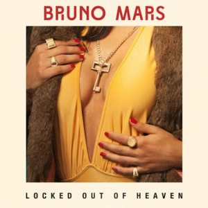 Bruno Mars - Locked Out Of Heaven - Artwork