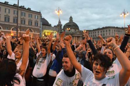 PSY - Gangnam Style, il Flash Mob
