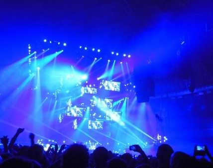 I Muse nel primo show italiano del 2012 a Bologna