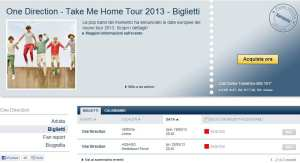 One Direction Sold Out - TicketOne