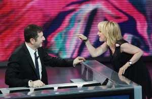 Fabio Fazio & Luciana Littizzetto   © Vittorio Zunino/Getty Images