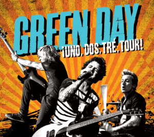 Green Day: ¡Uno!, ¡Dos!, ¡Tré!, ¡TOUR! - © Facebook
