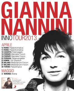 Gianna Nannini - INNOTour2013 - © Facebook
