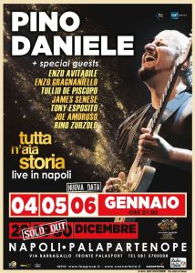 "Pino Daniele - ""Tutta n'ata Storia"""