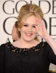 Adele ai Golden Globes 2013 | © Jason Merritt/Getty Images