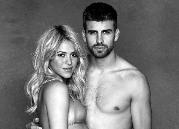 Shakira posa con il pancione accanto a Gerard Pique per l'Unicef