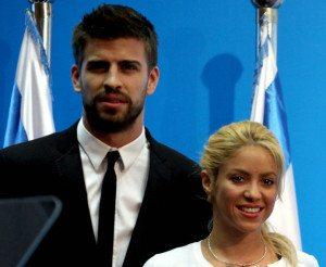 Il web saluta Milan, primogenito di Shakira e Piqué