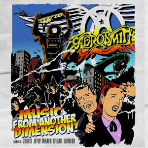 "Aerosmith - ""Music from another dimensione"" - Artwork"