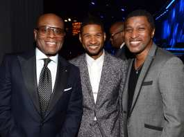 Antonio 'LA' Reid, Usher & Babyface | © Larry Busacca/Getty Images