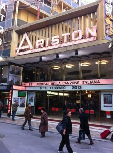 Sanremo Teatro Ariston | © Fabio Fazio Official Twitter