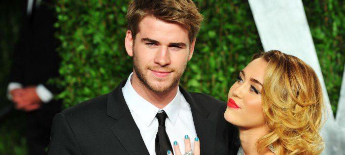 La gelosia separa Miley Cyrus e Liam Hemsworth, addio nozze