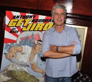 Anthony Bourdain © Theo Wargo/Getty Images