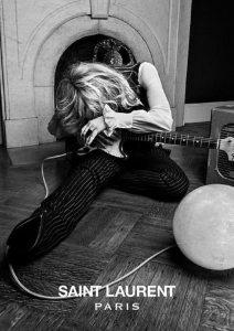 Courtney Love per Yves Saint Laurent | © Hedi Slimane