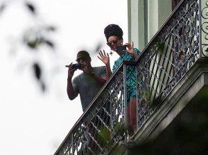 Beyoncé e Jay Z a Cuba| © STR/AFP/Getty Images