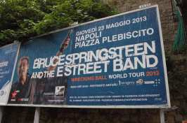 Bruce Springsteen & The E-Street Band – Wrecking Ball Tour 2013, Napoli - Ph. © A. Moraca