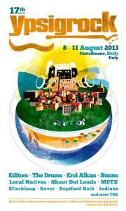 Ypsigrock Festival 2013   © Pagina Facebook