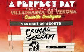 Cancellato il Festival  A Perfect Day 2013