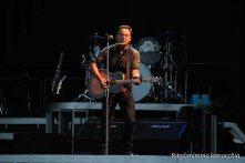 Springsteen sul palco   © Mimmo Lamacchia