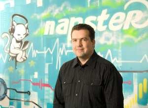 Thorsten Schliesche, Napster Senior Vice President e General Manager Europe