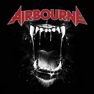 "Airbourne - ""Black dog barking"" - Artwork"