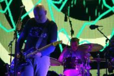 Billy Corgan e Mike Byrne - Smashing Pumpkins - Rock In Roma