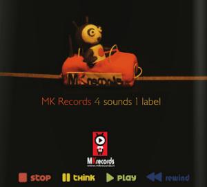 "MK Records - ""4 Sounds 1 Label"" - Artwork"