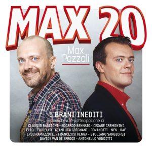 """Max Pezzali - """"Max 20"""" - Artwork"""