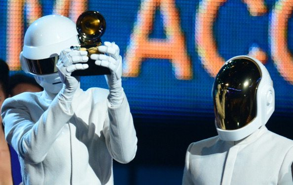 Daft Punk  premiati ai Grammy Awards 2014| © FREDERIC J. BROWN/AFP/Getty Images