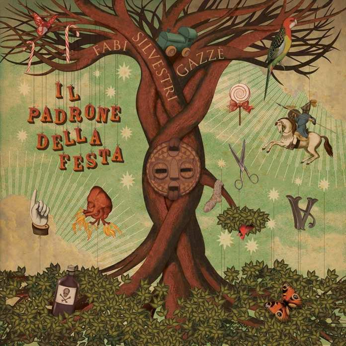 """Fabi Silvestri Gazzè - Il padrone della Festa"""" - Artwork"""