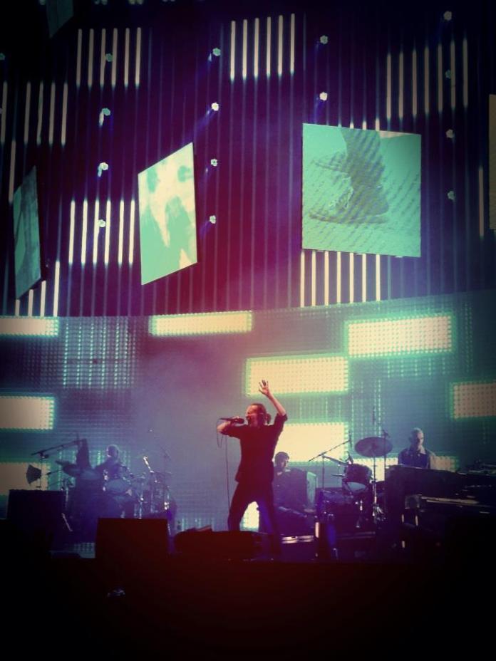 Radiohead live Roma ©MelodicaMente