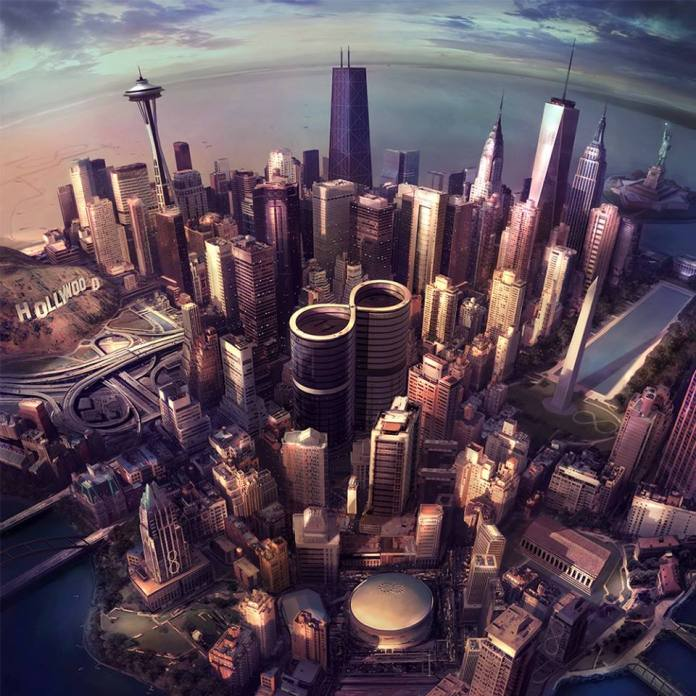 Sonic Highways - Foo Fighters - artwork