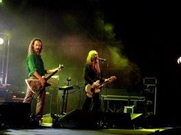 Il chitarrista Xabier Iriondo e Manuel Agnelli | © Melodicamente