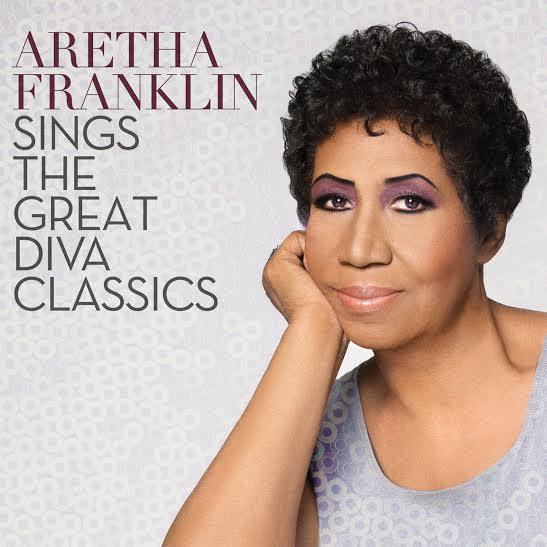 Aretha Franklin - Aretha Franklin Sings The Great Diva Classics - Artwork
