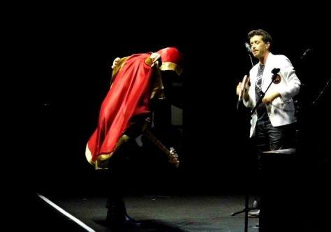 Max Gazzè sul palco con Daniele Silvestri | © MelodicaMente