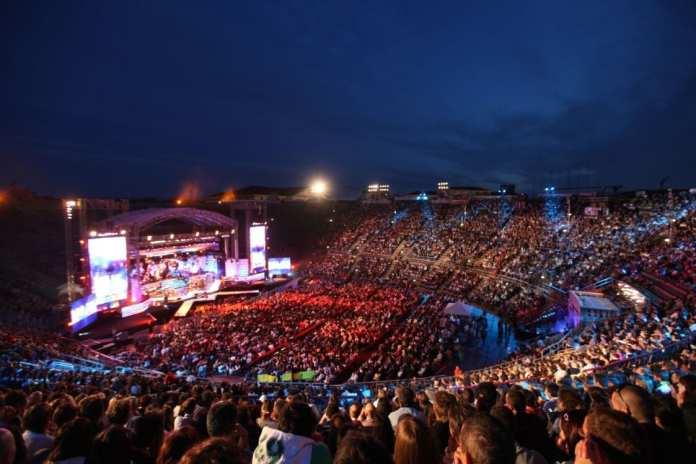 I Wind Music Awards 2015 all'Arena di Verona   © Scozzese