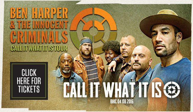 Nuovo album per Ben Harper & The Innocent Criminals