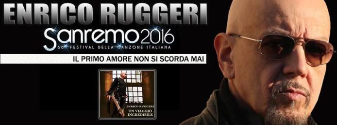 """Enrico Ruggeri: """"Il primo amore non si scorda mai"""". Testo"""