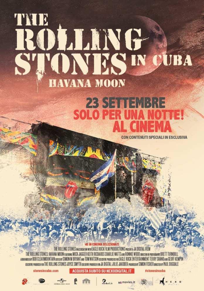 """The Rolling Stones. Havana Moon in Cuba"" sbarca al cinema"