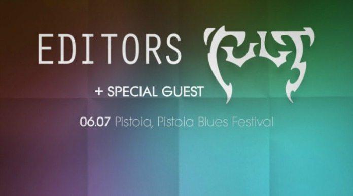 Editors e The Cult si aggiungono al programma del Pistoia Blues Festival 2017
