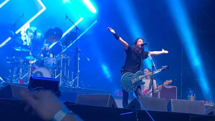 I Foo Fighters aprono alla grande il Firenze Rocks 2018