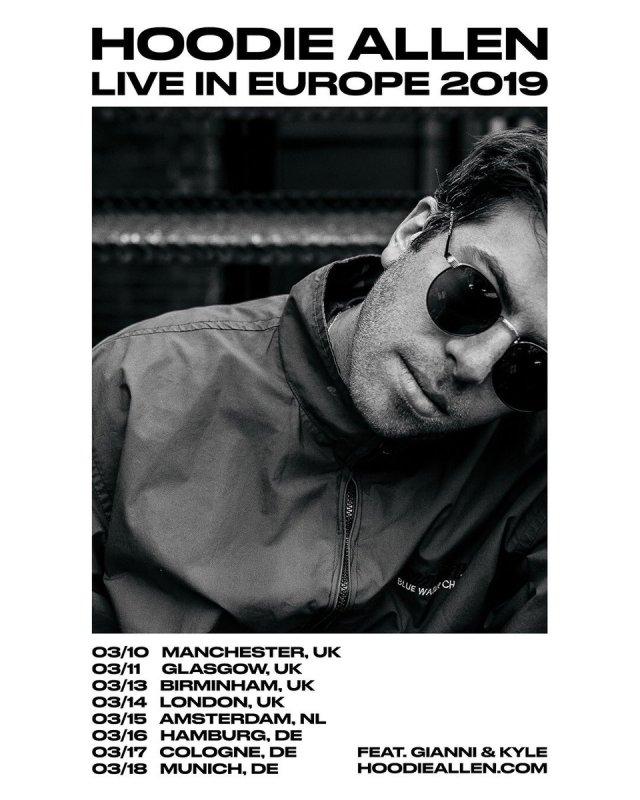 Hoodie Allen Announces European Tour – // MELODIC Magazine