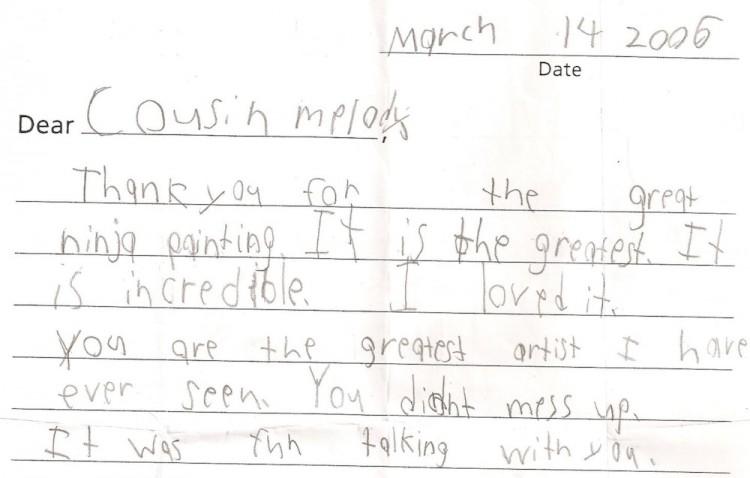 Ben's Letter