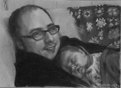 mstarkweather_hollychris_dadbaby_drawing_sm