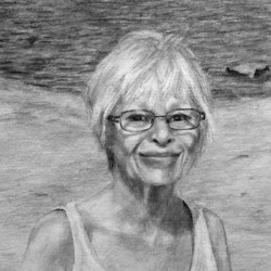 "Susan, 2013, Graphite Pencil Drawing on Paper, 5""x7"""