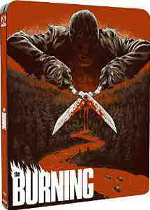 Burning Dual Format Blu ray DVD SteelBook